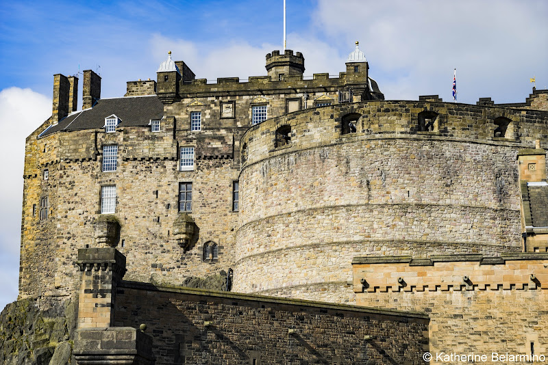 Edinburgh Castle Best Castles in Scotland for a Road Trip Itinerary