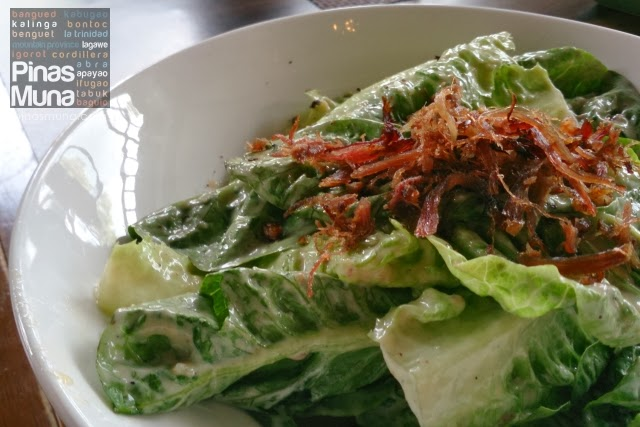 Hill Station Baguio - Caesar Salad with Shredded Duck Confit