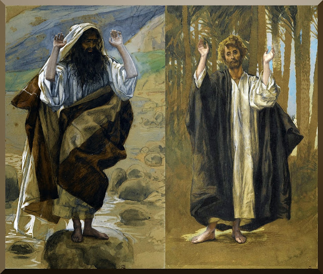 """Saint Jude the Apostle"" (left) and ""Saint Simon the Apostle"" --  by James Tissot"