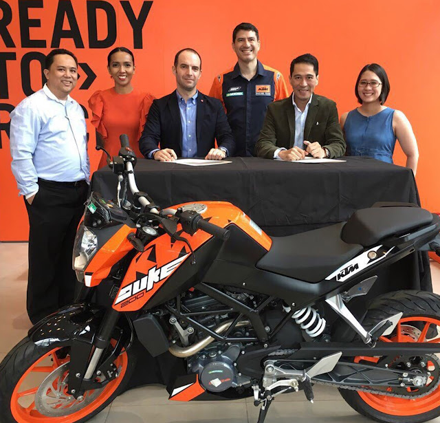 KTM Philippines partners with Ibero Asistencia