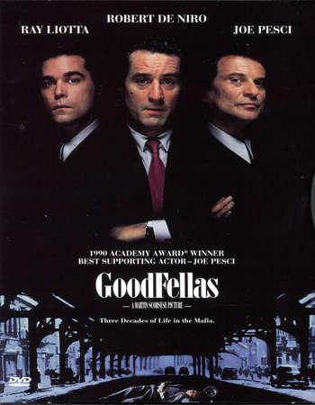 Poster Of Goodfellas 1990 English 400MB BRRip 480p ESubs Free Download Watch Online Worldfree4u