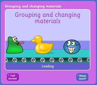 Grouping materials