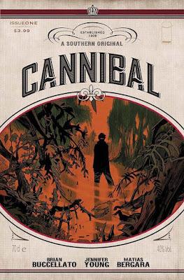 Cannibal #1 la  copertina