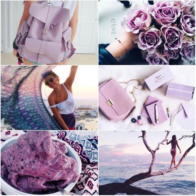 Como fazer fotos em tons lilás