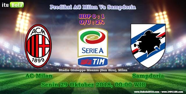 Prediksi AC Milan Vs Sampdoria - ituBola