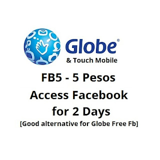 FB5 : Globe and TM Access Facebook for 2 Days