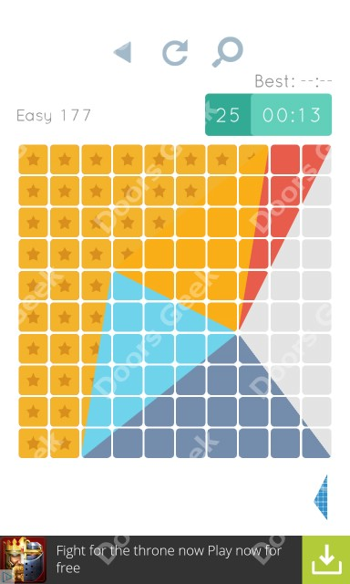 Cheats, Walkthrough for Blocks and Shapes Level 177