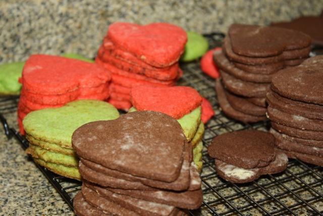 Galletitas de chocolate / Chocolate cookies