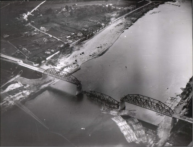 A blown bridge at Kovno (Kaunas), Lithuania, 15 July 1941 worldwartwo.filminspector.com
