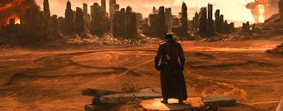 batman vs superman knightmare scene