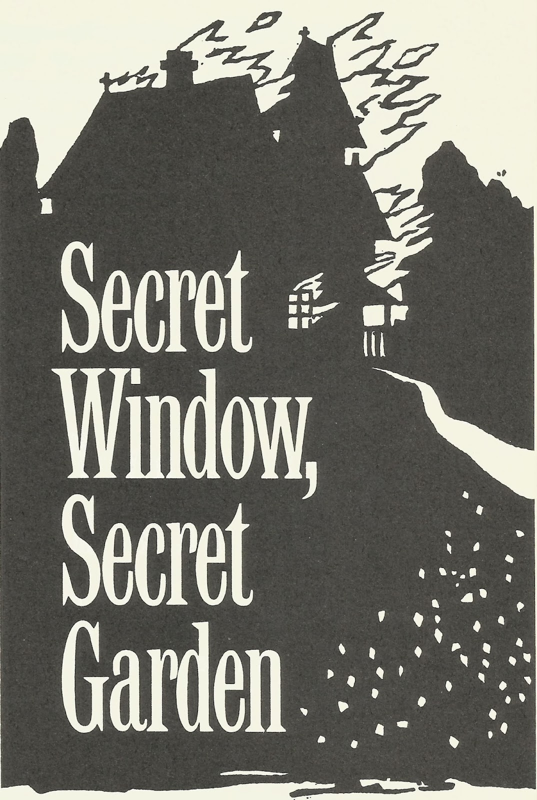 Secret Window Book
