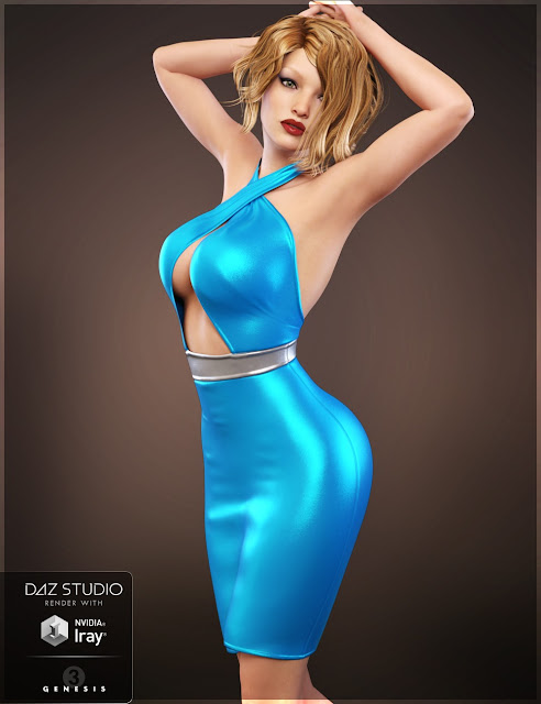 Ava Outfit for Genesis 3 Female