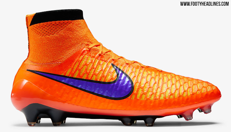 6dc8beb66 This is the new Nike Magista Obra Summer 2015 Soccer Cleat Colorway. The  new orange Nike Magista Obra Intense Heat Pack ...