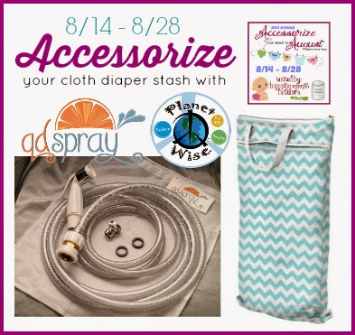 Accessorize Your Stash Cloth Diaper Event Grand Prize