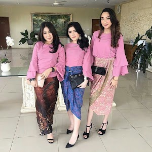 17+ Model Kebaya Modern Simple Terbaru Paling Modis 2018