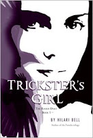 book cover of Trickster's Girl by Hilari Bell published by Houghton Mifflin