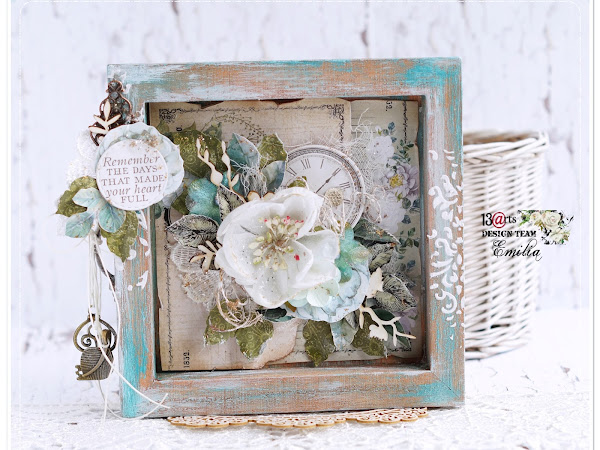 Altered Wooden Frame & Video Tutorial