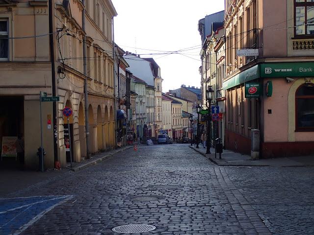 Jedna z ulic w mieście