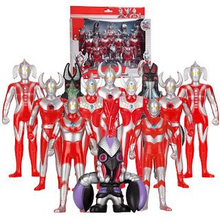 Ultraman Toys Ultra Squad vs Baltan Trio