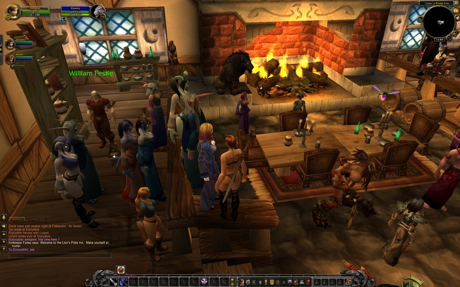 warcraft Adult world server private