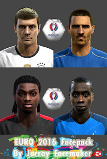 Facepack Euro 2016 Pes 2013 By Jarray Facemaker