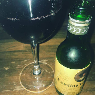 vino, tinto, faustino vii, BOTELLA INDIVIDUAL,
