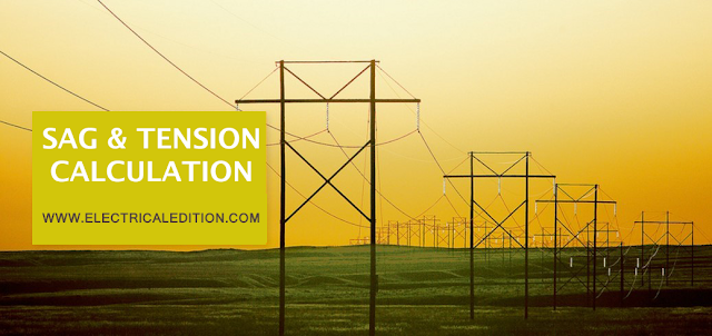 Sag & Tension In Electrical Transmission Lines