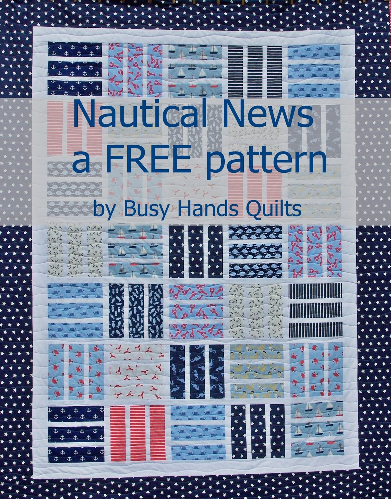 Nautical News - a Free Pattern in 6 Sizes!