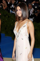 Selena Gomez in sexy slit gown at Met Gala 2017 red carpet