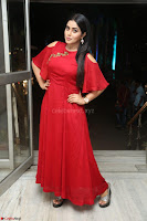 Poorna in Maroon Dress at Rakshasi movie Press meet Cute Pics ~  Exclusive 32.JPG