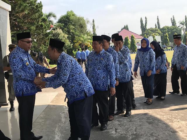 Wakil Bupati OKI Pamit dan Minta Maaf kepada ASN