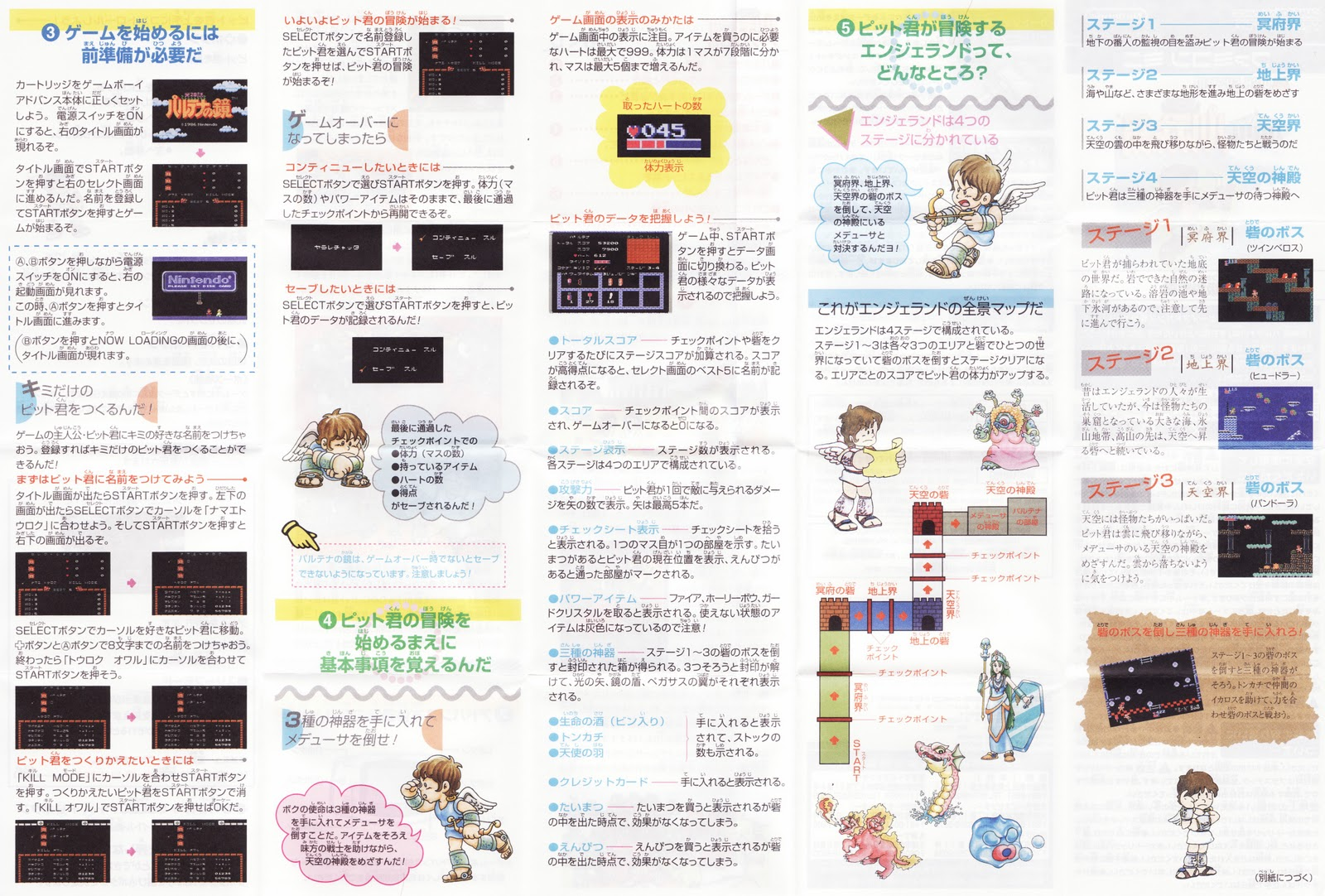 Gba manual Scans