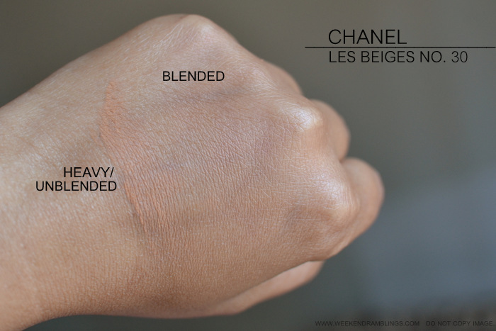 60ec07597c1620 Chanel Les Beiges Healthy Glow Sheer Colour SPF 15 No 30 Photos Swatches  Review FOTD Indian