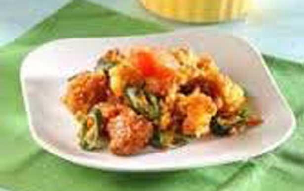 Resep Masakan Ayam Balut Saus Tiram