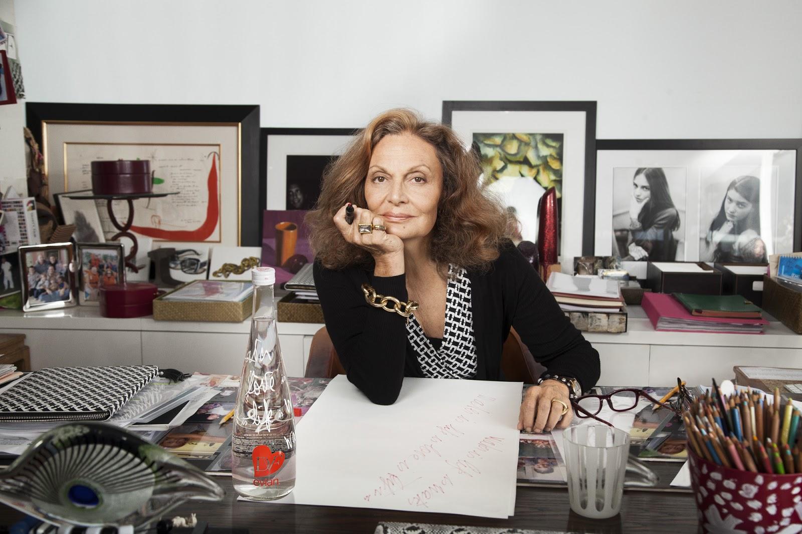 Diane Von Furstenberg Quote: Chatter Busy: Diane Von Furstenberg Quotes