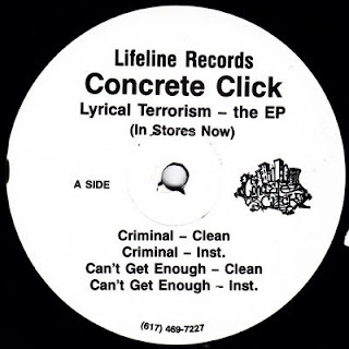 Concrete Click – Lyrical Terrorism (The EP) (1995) [Vinyl] [FLAC]