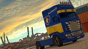 DalaFrakt skin for Scania RJL