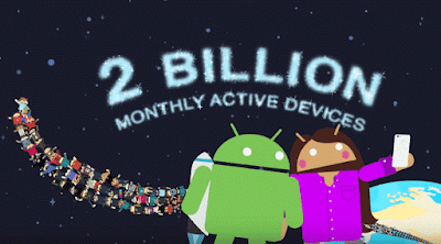 Android 2B Monthly Active Users