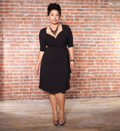 83f0c96caac Check out Curvy Fashion Exchange Picks for Best Little Black Dresses  Photo  Courtesy of http   www.kiyonna.com