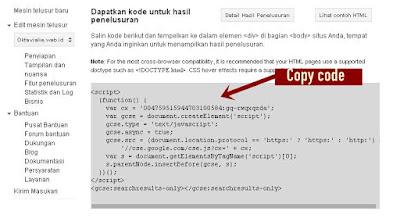 Cara Membuat Google Custom Search Engine Di Blog
