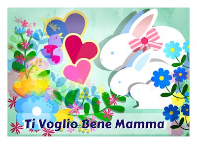 Cartolina da stampare: Festa della Mamma