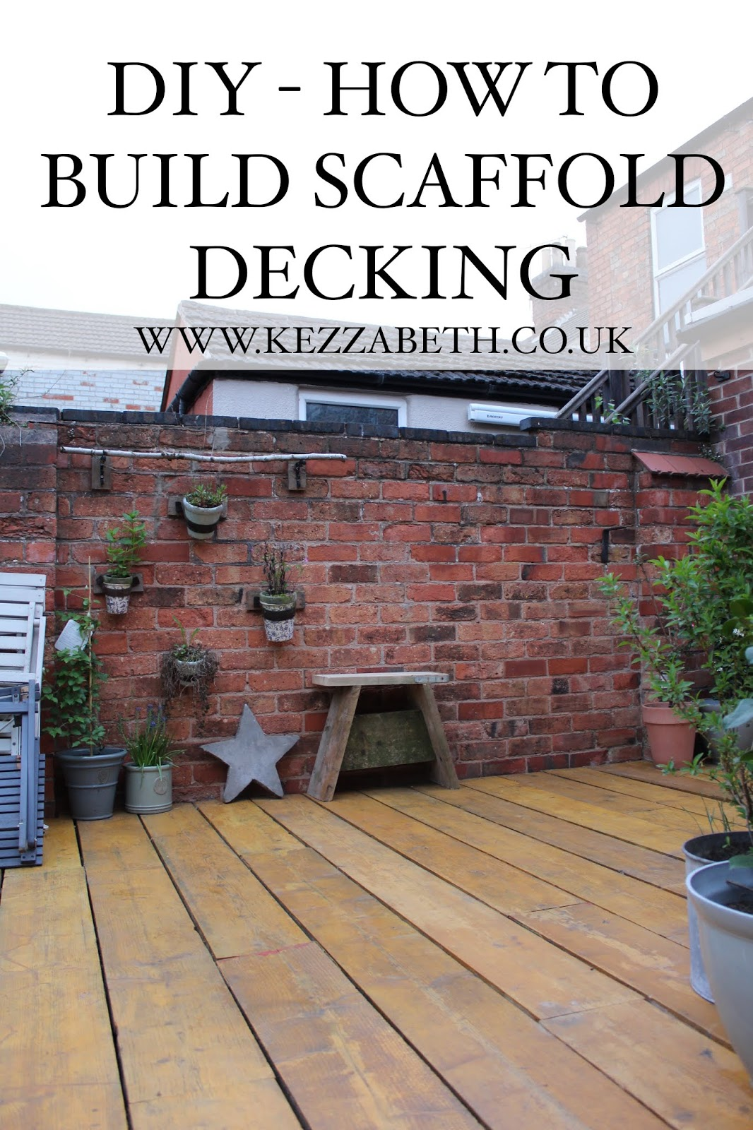 DIY how to build scaffold decking