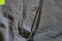 Knopf: ZANZEA Damen V-Ausschnitt Spitze Bluse Hemd T-Shirt Oberteil Tops