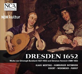 Vocal And Chamber Music (Baroque) - C. Bernhard, C. Herwich