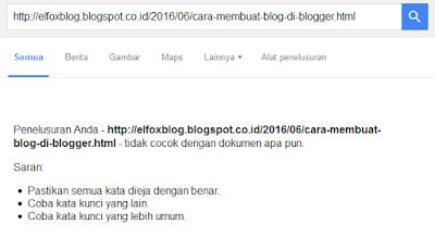 Cara Mempercepat Blog Terindeks Google