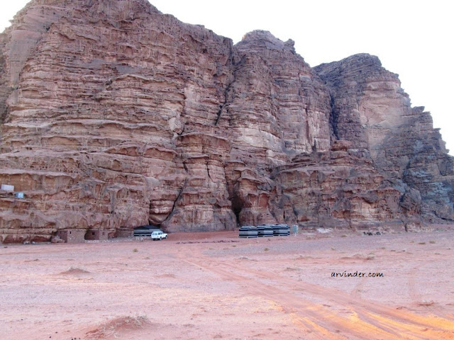 camp site wadi rum