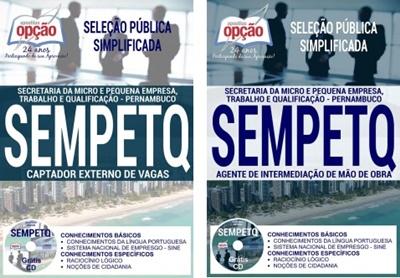 Apostila concurso SEMPETQ PE 2017