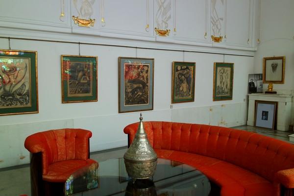 vienna vienne otto wagner villa ernst fuchs museum hütteldorf penzing salon adolf böhm salon parlor