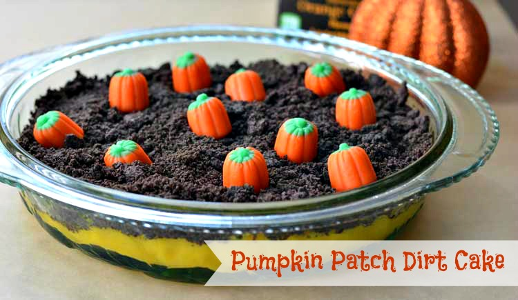 Pumpkin Patch Dirt Cake from Growing Up Gabel