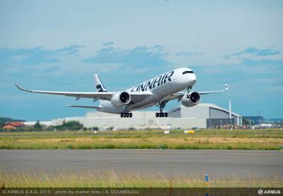 Airbus A350-941, OH-LWA, Finnair